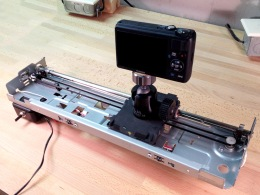 Building a Motorized Camera Slide from a Dead Inkjet Printer