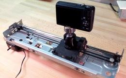 Building a Motorized Camera Slide from a Dead InkjetPrinter