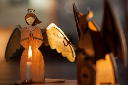 Angels and Devils: Making A Smoking Man Candle Holder