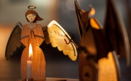 Angels and Devils: Making A Smoking Man CandleHolder