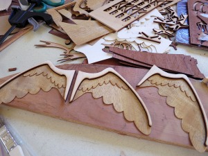 Glued Angel Wing