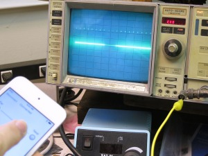 Jog On Oscilloscope