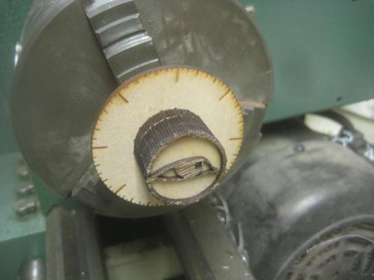 Knob On Lathe