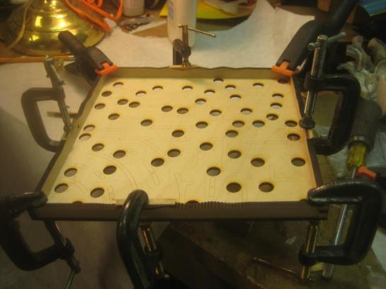 Maze Frame Clamped