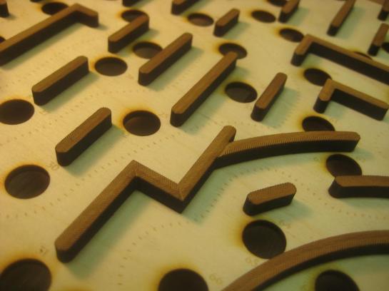 Maze Miter Details