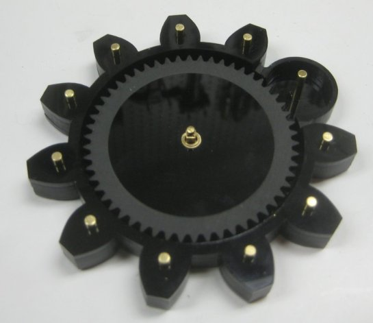 Pins And Gears During Assembly