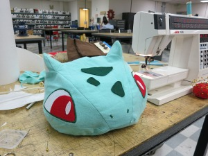 Bulbasaur Hat All Done