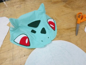 Upper Bulbasaur Face