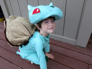 Simon Bulbasaur On All Fours